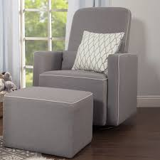 davinci olive upholstered swivel glider with bonus ottoman grey davinci olive swivel glider and ottoman reviews wayfair ca