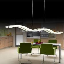 Dining Ceiling Lights Led Pendant Lights Modern Kitchen Acrylic Suspension Hanging