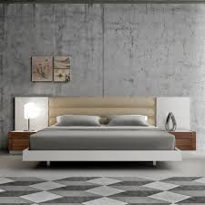 Modern Bedroom Furniture Catalogue Lisbon Modern Bed White Bedroom Furniture J U0026 M Furniture