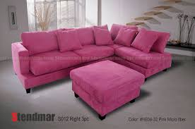 pink leather sectional sofa welcome to stendmar com 3pc modern pink microfiber sectional sofa