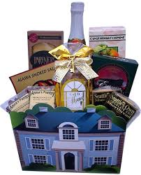 seattle gift baskets deluxe new home gift box seattle gift basket company