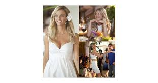 aniston wedding dress in just go with it aniston and decker s looks in just go with it