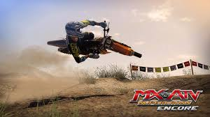motocross racing game mx vs atv supercross encore