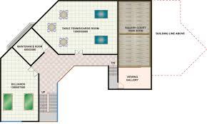 basement plan ground floor first second house plans 86050
