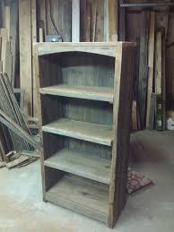 furniture rustic bookcase best of barn wood bookshelf new