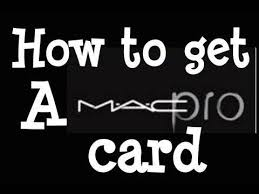 Discount Professional Makeup Pro Makeup How To Get A Mac Pro Card Step By Step Instructions