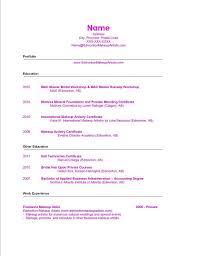 Example Artist Resume by Makeup Artist Resume U0026 Cover Letter Ema Edmonton Makeup Artists