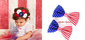 fourth of july hair bows 20 fourth of july hairclips for kids 4th of july hair
