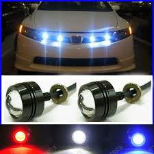free shipping thin car led fog light newest led