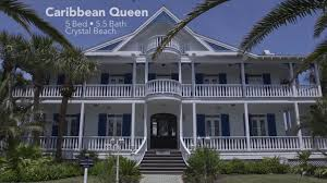 5 Bedroom Vacation Rentals In Florida Caribbean Queen 5 Bedroom Destin Vacation Home In Crystal Beach