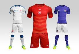 desain kaos futsal di photoshop football soccer kit mockup mockupworld