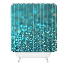 aqua shower curtain lisa argyropoulos aquios shower curtain from deny designs turquoise