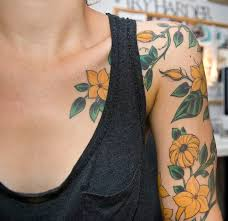 floral tattoo quarter sleeve collection of 25 half sleeve bee n flowers tattoo design