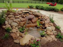 small garden ponds with waterfalls home outdoor decoration