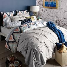 King Cotton Duvet Cover Bedroom Duvet Covers King West Elm Pillow Shams Pintuck Duvet