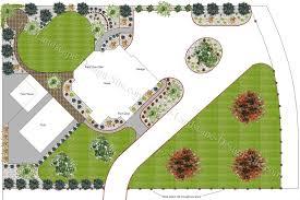Landscape Design Ideas Chic Landscape Plans Backyard Landscape Design Ld Plans Pinterest