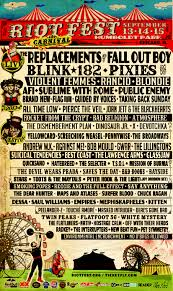 Riot Fest Map Chicago by News Pixies Suicidal Tendencies Andrew W K Hatebreed More