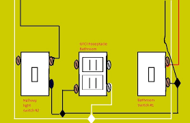electrical two switches to separate lights and one constant