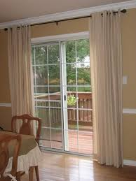 Curtains On Patio Curtains For Bay Window With Door The Outrageous Best Of The