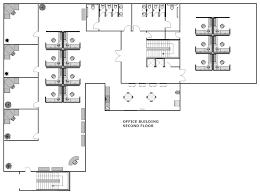 Smartdraw Tutorial Floor Plan Example Image Office Building Floor Plan Office Design Brief