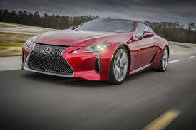2018 lexus lc 500 new lexus lc 500 lets loose sweet sounding v 8 in new ad