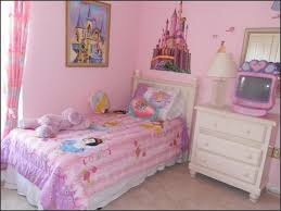 bedroom disney bedroom with double comfort bed near small