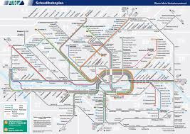 Germany Rail Map by Frankfurt City Transit Map Beautifully Integrated Local Train S