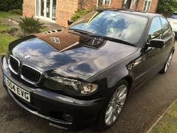2004 bmw 318i m sport 2 0l manual black sued interior sat nav 2