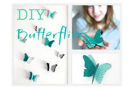 how to diy butterfly wall decals decorations that impress youtube