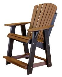 Adirondack Home Decor Wildridge Furniture High Adirondack Chair U2013 Hearth Stove And Patio