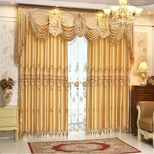 cheap curtain set buy quality luxury embroidered curtains