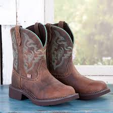 womens justin boots size 9 justin green stitched boots boots stitch and boots