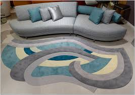 Area Rugs Modern Contemporary Brilliant Gray And Teal Area Rug 8x10 Interior Home Design With