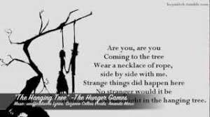the hanging tree cover