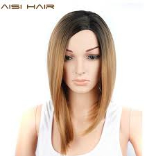 from pixie cut to bob with extensions aisi hair short pixie cut grey wig ombre hair synthetic straight bob