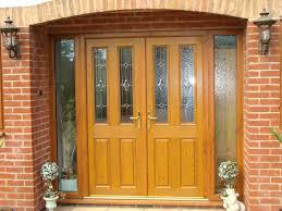 Solid Timber Front Doors by Front Doors Cozy Contemporary Oak Front Door Best Idea
