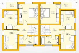 Haus Grundriss Massives Haus Für 2 Familien Bauen Ytong Bausatzhaus
