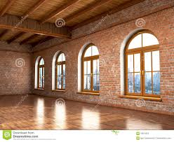 Brick Loft by Loft Studio Interior In Old House Stock Illustration Image