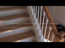 Replace Banister With Half Wall How To Remodel Carpeted Stairs Into Oak Wood Stairs Using Stair