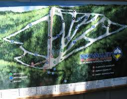 mt lemmon hiking trails map mt lemmon ski valley ski trail map arizona united states mappery