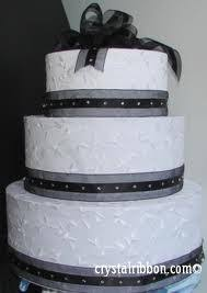wedding cake ribbon beautiful ribbon wedding cake food and drink