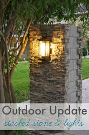 solar lights for driveway pillars l design wood light post wooden posts residential ottomans
