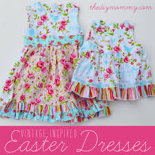 Vintage Style Baby Clothes Sew Vintage Inspired Easter Dresses For Baby And Big Sister The