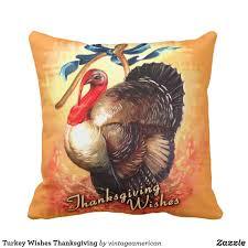 turkey wishes thanksgiving throw pillow thanksgiving throw
