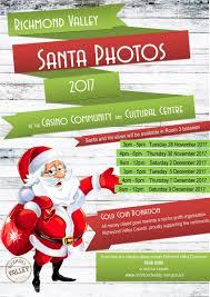 richmond valley santa photos 2017 richmond valley council