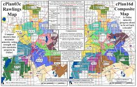Dallas Map by Dallas Redistricting 2011 Almost Final Two Dallas City Council