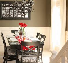 Black And White Dining Room Chairs Red Black And White Dining Room Caruba Info