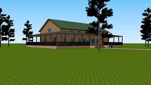 Ranch House With Wrap Around Porch huge barndominium with wrap around porch youtube