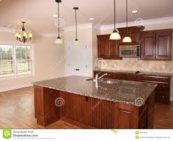 Kitchen With Island Images Luxury Kitchen With Island 3 Stock Photos Image 4944853
