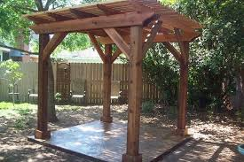 Backyard Arbors Backyard Pergola Traditional Patio Houston By Millbrook